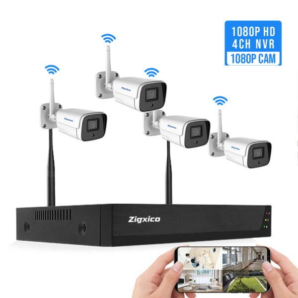 Kit 4 Camera không dây