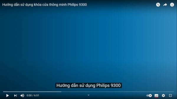 video hướng dẫn sử dụng PHILIPS 9300