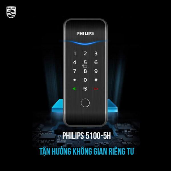 Philips 5100-5H sử dụng các phương thức bảo mật tiên tiến