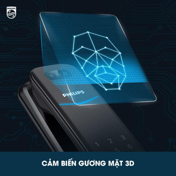 Philips DDL702 nhận diện khuôn mặt 3D